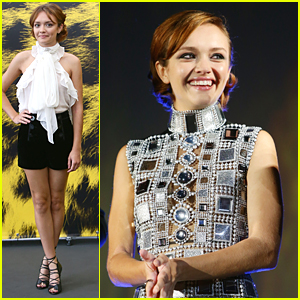 Olivia Cooke Wows At 'Me & Earl & The Dying Girl' Screening in Switzerland