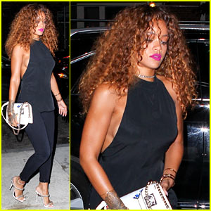 Rihanna Has a Brand New Ankle Tattoo!