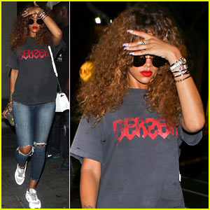 Rihanna Steps Out After Slamming False Matt Barnes Rumors