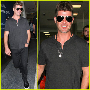 Robin Thicke & April Love Geary Respond to Engagement Rumors