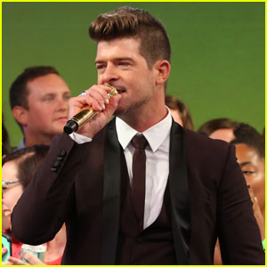 Robin Thicke Says Son Julian Helped Him Gain Perspective