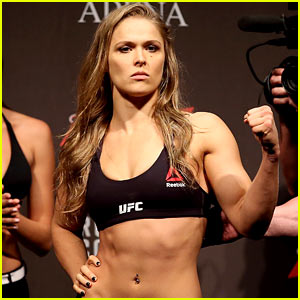 Ronda Rousey to Play Herself in Movie Based on Her Life!