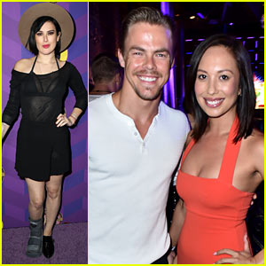 Rumer Willis' Boot Gives Her a 'Boost' at Just Jared's Wonderland Party