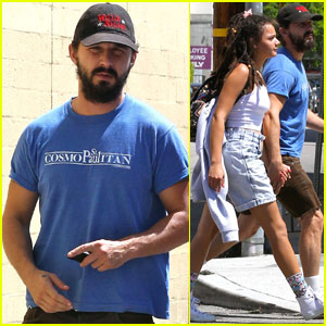 Shia LaBeouf Shows Some PDA With 'American Honey' Co-Star Sasha Lane!