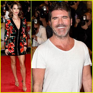 Simon Cowell Sports a Scruffy Gray Beard at 'X Factor UK'