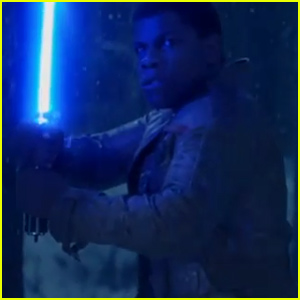 'Star Wars: The Force Awakens' Teaser Shows John Boyega with His Lightsaber - Watch Now!