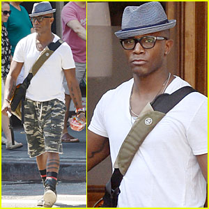 Taye Diggs Talks Forgetting Lines During 'Hedwig' on Broadway