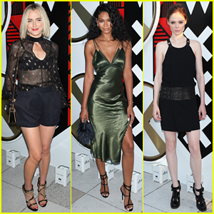 Taylor Schilling & Chanel Iman Get Glam for W Amsterdam Opening!