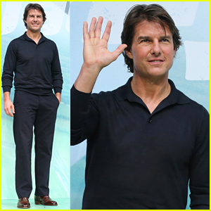 Tom Cruise Promotes 'Mission: Impossible - Rogue Nation' After Box Office Win!