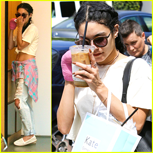 Vanessa Hudgens Gives Support To Laura New on 'America's Got Talent' After Spa Visit