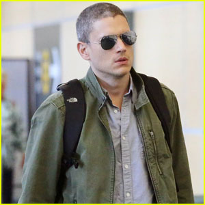 Wentworth Miller Steps Out Amid 'Prison Break' Return News