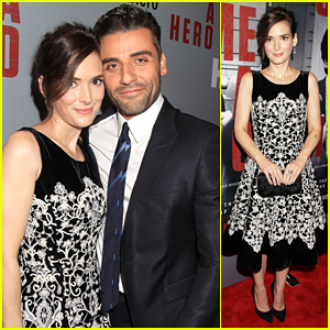 Winona Ryder & Oscar Isaac 'Show Me A Hero' In New York!