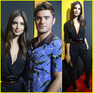Zac Efron Wears Bird-Print Shirt to 'We Are Your Friends' Screening in Miami