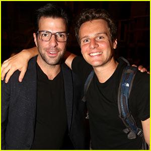 Zachary Quinto Reunites with Ex-Boyfriend Jonathan Groff