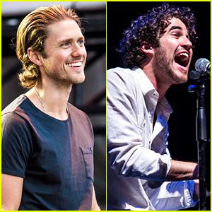 Aaron Tveit & Darren Criss Sing Show Tunes at Elsie Fest!