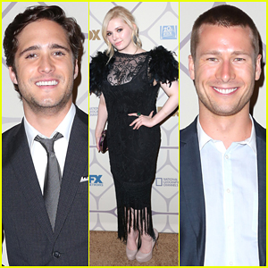 Abigail Breslin & Diego Boneta Represent 'Scream Queens' At Fox's Emmys After Party 2015!