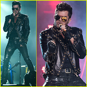 Adam Lambert Rocks Out at 'Rock in Rio' with Queen