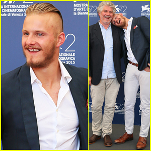 Alexander Ludwig Hits Venice Film Festival With New Film 'Go With Me'