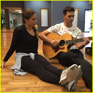 Allison Holker Talks Prepping Two Dances With Andy Grammer in Week Two Just Jared Blog!
