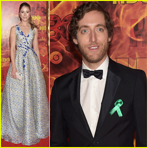 Amanda Crew Joins Her 'Silicon Valley' Boys At HBO's Emmys After Party 2015!