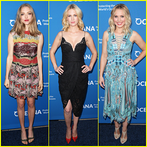 Amanda Seyfried, January Jones & Kristen Bell Perform At Concert For Our Oceans!