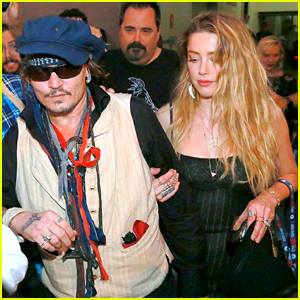 Amber Heard Joins Johnny Depp at Rock in Rio Show!