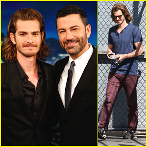 Andrew Garfield Hits Up 'Jimmy Kimmel Live' To Chat '99 Homes'