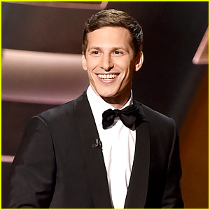Andy Samberg Gave Out Free HBO Access at Emmys 2015!