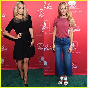 Molly Sims & AnnaSophia Robb Hit Up Cotton & Rue La La's Fashion Showcase