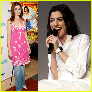 Anne Hathaway Makes Fun of Her Style Eleven Years Ago