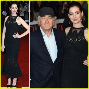 Anne Hathaway & Robert De Niro Bring 'The Intern' to London