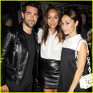 Ashley Madekwe Buddies Up with Jesse Metcalfe & Cara Santana at E!'s NYFW Kick Off Party!
