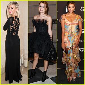 Julianne Hough & Bella Thorne Celebrate Harper's Bazaar's ICONS During NYFW