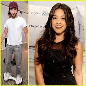 Ben Barnes & Gina Rodriguez Pick Up Swag at Emmys Weekend Gifting Suite!