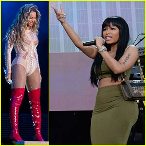 Beyonce & Nicki Minaj Hit Philly for Hot 'Made in America Festival' Performances (Videos)