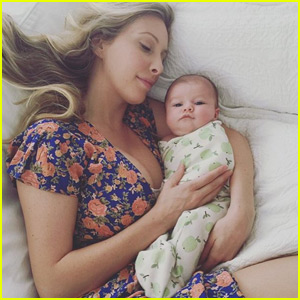 Brandon & Leah Jenner Share First Photo of Baby Eva!