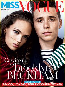 Brooklyn Beckham Covers 'Miss Vogue,' Gives First Interview