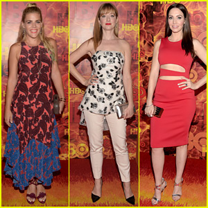 Busy Philipps & Judy Greer Celebrate Emmy Winners at HBO's After Party!