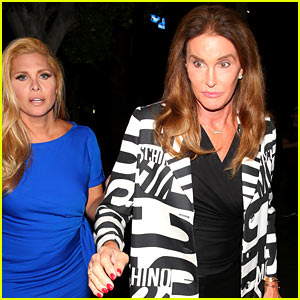 Caitlyn Jenner Enjoys a Girls Night Out with Candis Cayne