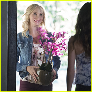 The Vampire Diaries' Candice King Talks Pregnancy & Steroline Baby Rumors (JJ Interview)