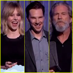 Kristen Bell & Benedict Cumberbatch Read 'Mean Tweets' Live on 'Jimmy Kimmel' - Watch Now!