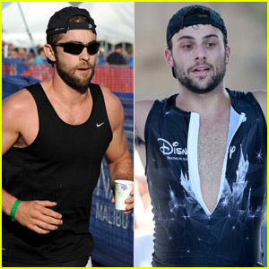 How to Get Away With Murder's Jack Falahee Vomits After Running Triathalon With Chace Crawford