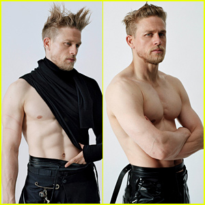 Charlie Hunnam Shows His Six Pack, Talks 'Emotionally Destructive' Decision to Turn Down 'Fifty Shades'