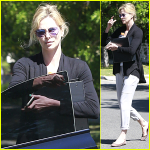 Charlize Theron Keeps Busy Sans Her Expanding Family