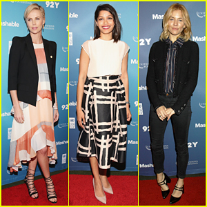 Charlize Theron, Freida Pinto & More Speak Up At Social Good Summit 2015!