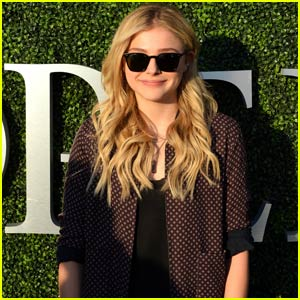 Chloe Moretz Stays Stylish While Checking Out the U.S. Open!