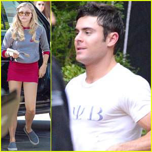 Chloe Moretz Heads To 'Neighbors 2' Set After Quick Trip To NYFW