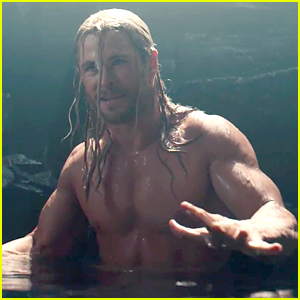 Chris Hemsworth Goes Shirtless for Two Minutes in 'Avengers: Age of Ultron' Deleted Scene