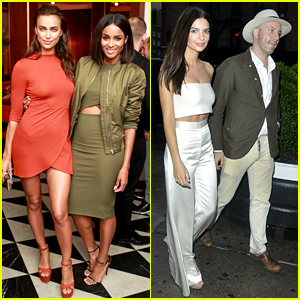 Ciara Gets Irina Shayk's Support at Topshop Celebration