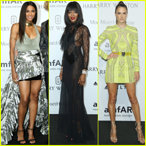 Ciara & Alessandra Ambrosio Hit Up the amfAR Gala 2015